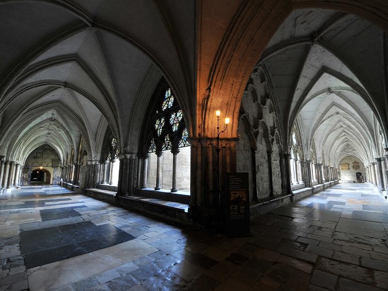 西敏寺Westminster Abbey內的9大必看重點:修道院The Cloisters