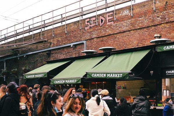 Camden Market 倫敦肯頓市集必吃的7間人氣美食小吃!