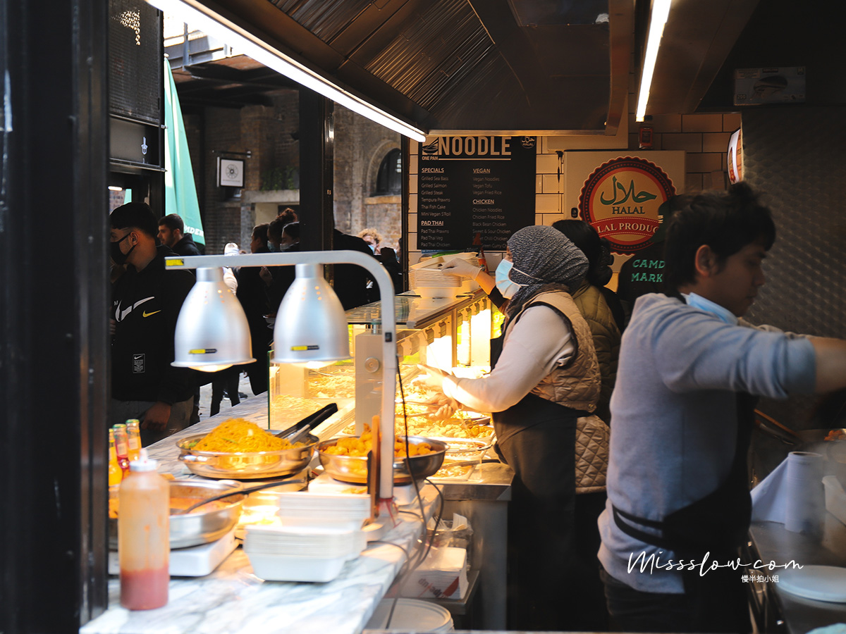 Camden Market肯頓市集攤販小吃
