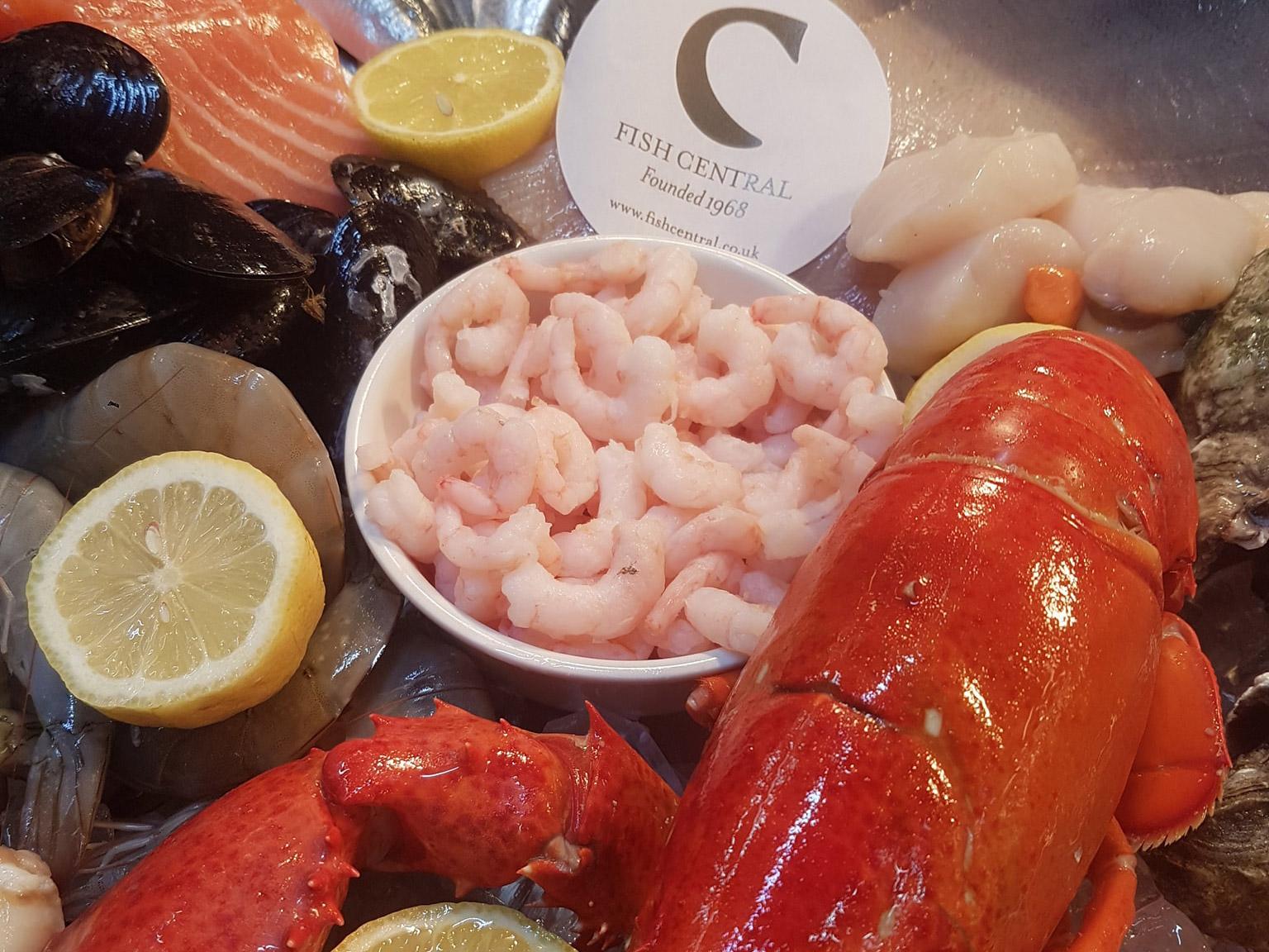 倫敦必吃9大傳統美食餐點和餐廳推薦:Fish Central Restaurant