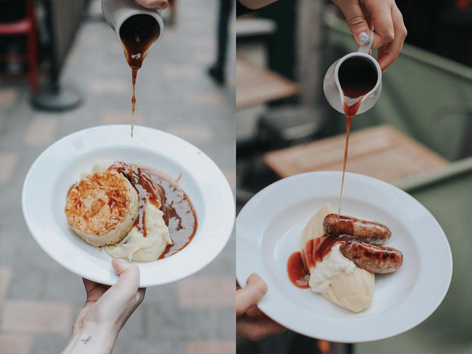 倫敦必吃9大傳統美食餐點和餐廳推薦:Mother Mash