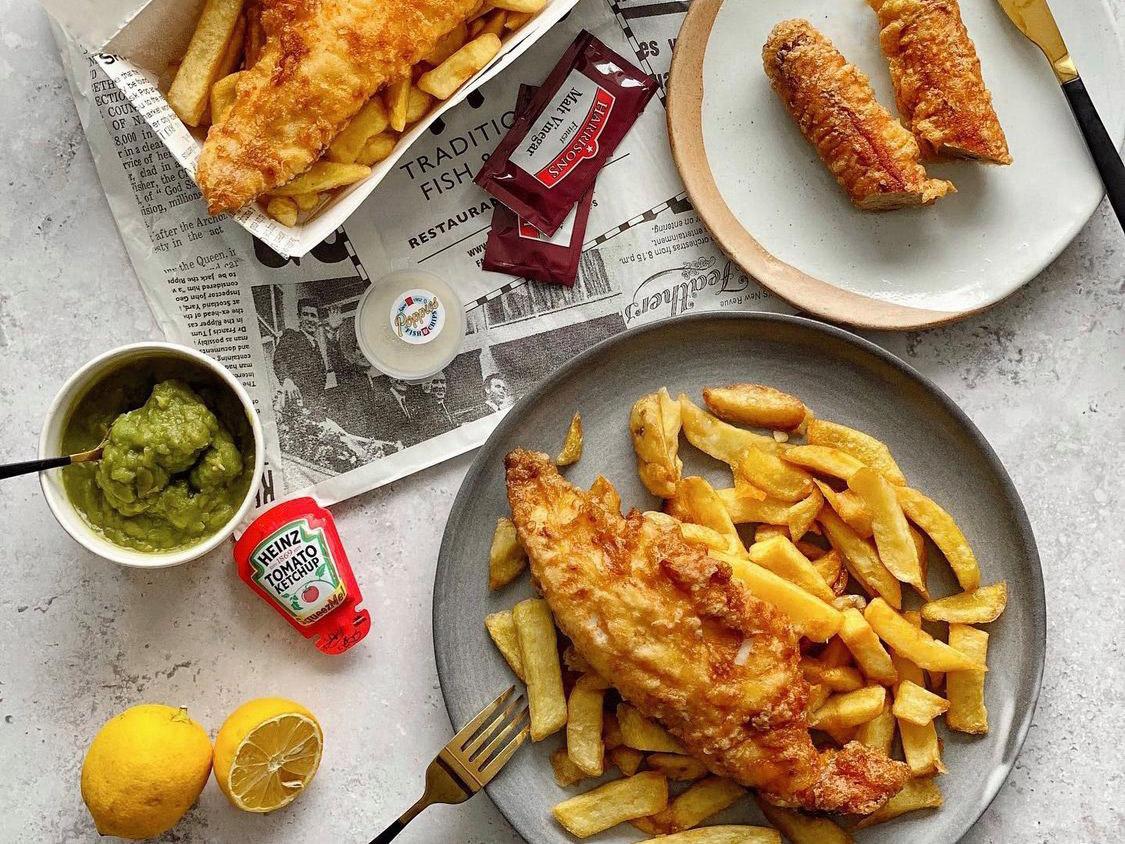 倫敦必吃9大傳統美食餐點和餐廳推薦:Poppie's Fish&Chips