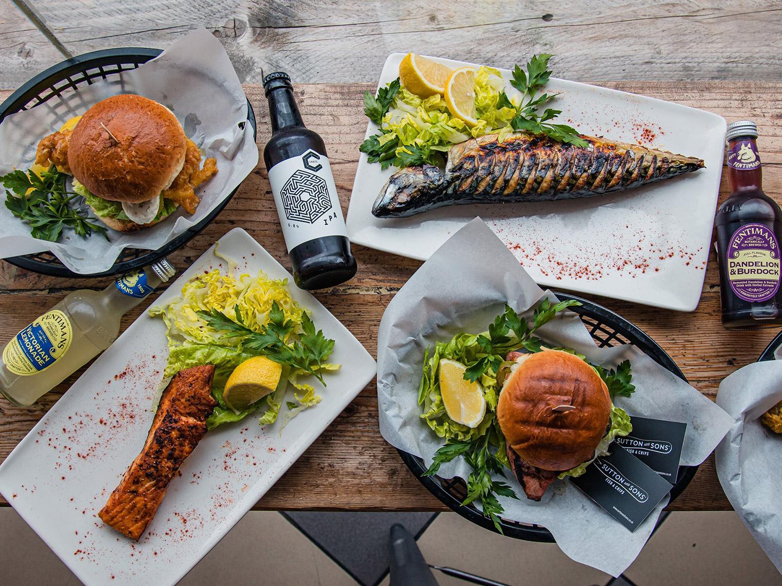 倫敦必吃9大傳統美食餐點和餐廳推薦:Sutton and Sons