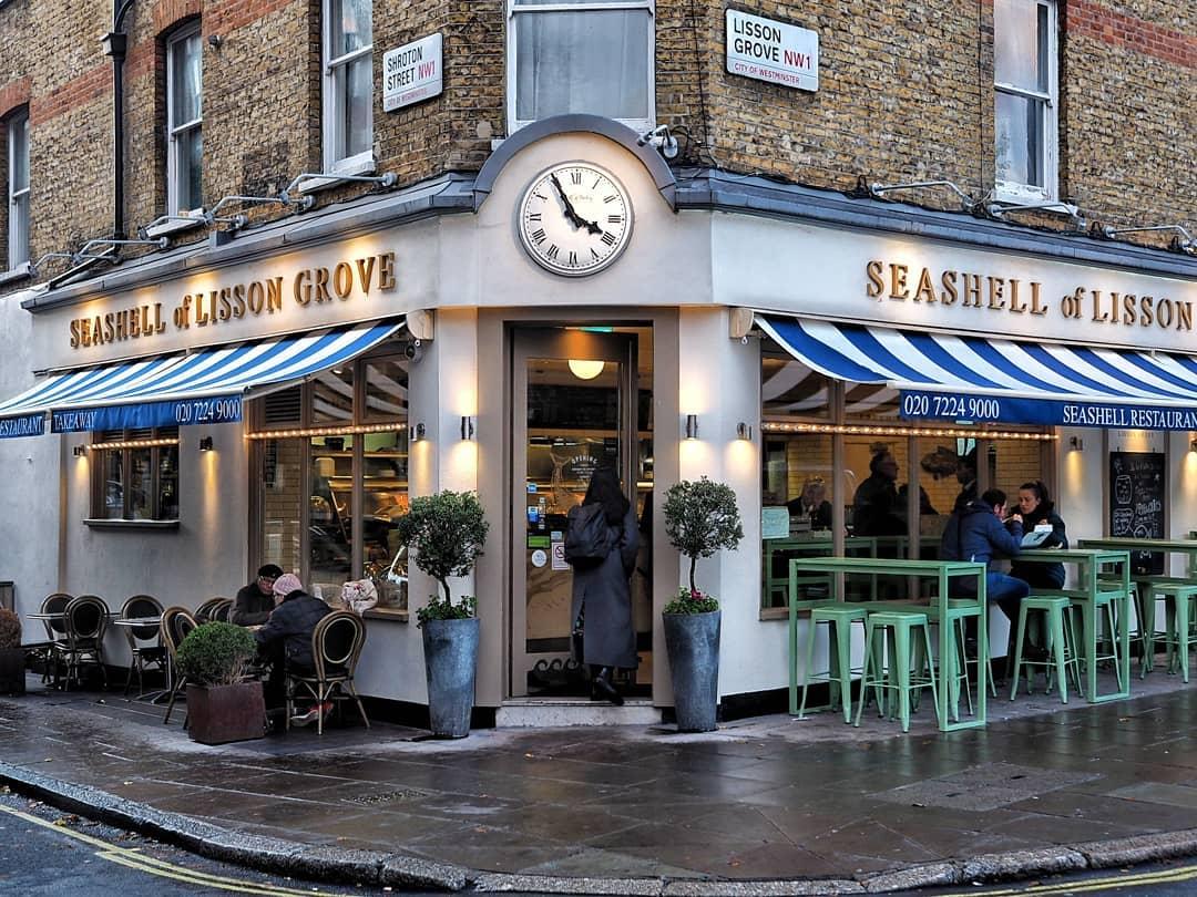 倫敦必吃9大傳統美食餐點和餐廳推薦:The Sea Shell of Lisson Grove