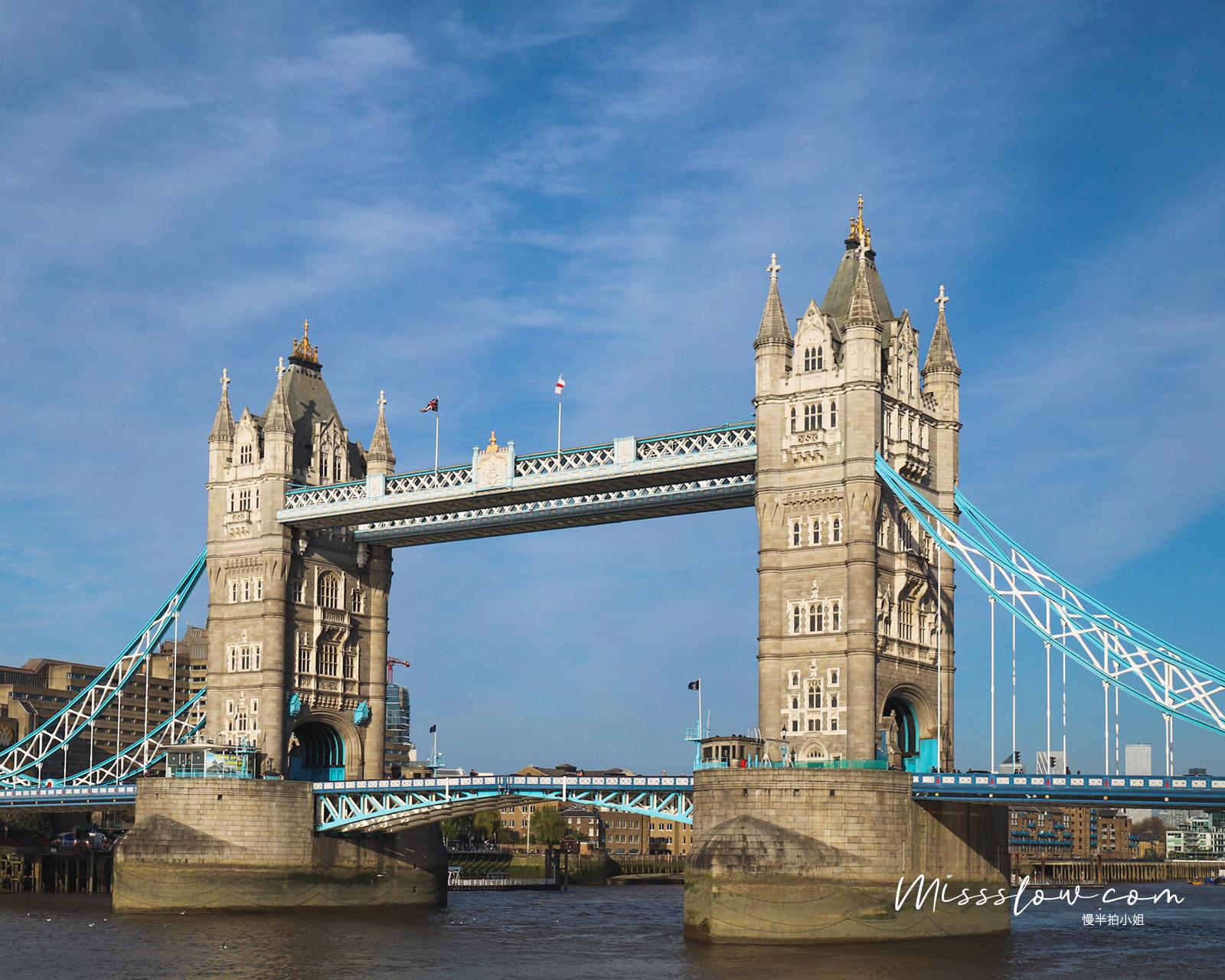 倫敦泰晤士河南岸-倫敦塔橋