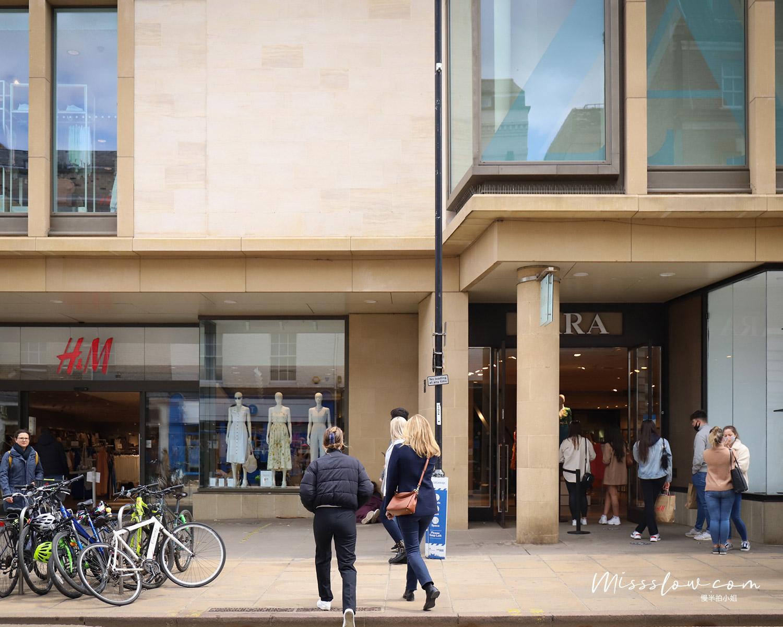 很多商店都聚集在ST ANDREW'S STREET,感覺消費者都是劍橋學生呀,都好年輕