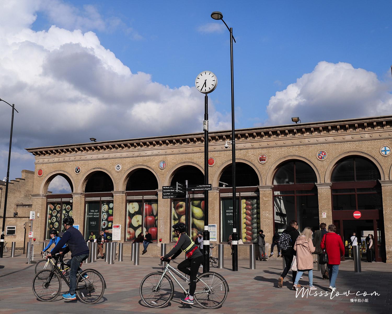 劍橋火車站不大,但就有一股小鎮車站的感覺。