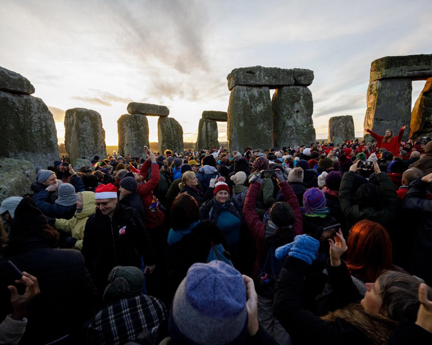 巨石陣每年最熱鬧就是夏至和冬至(Solstice)了