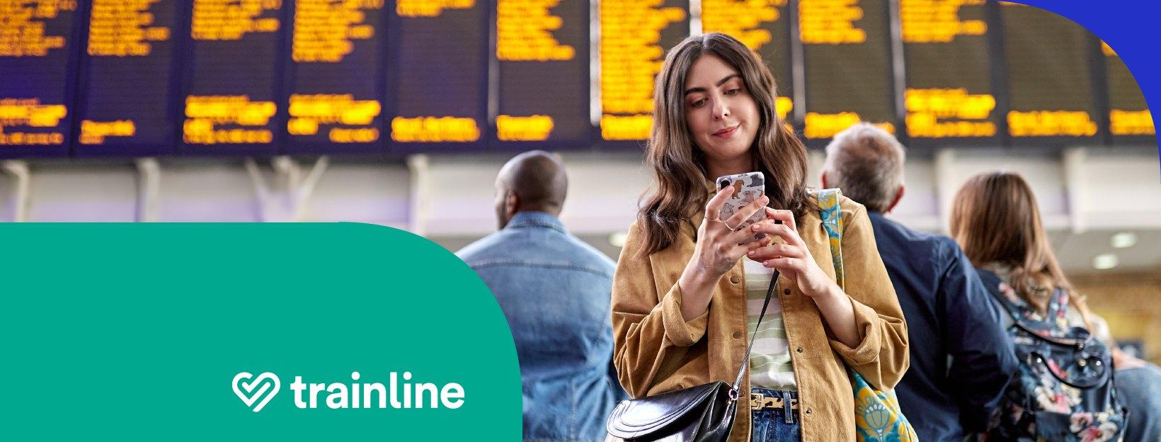 英國國鐵購票平台trainline
