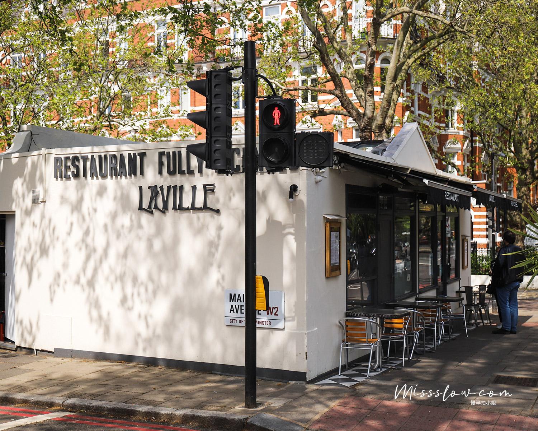 Cafe Laville:店家位置滿好找的,依照著google指示,往河的方向走一下次就找到了