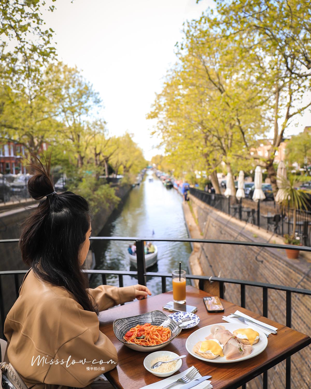 Cafe Laville:超棒的面運河戶外座位席
