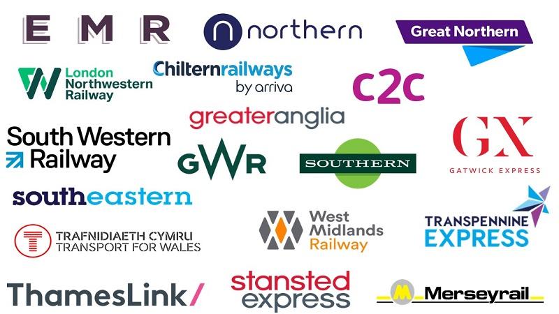 經營英國鐵路的多家私營公司