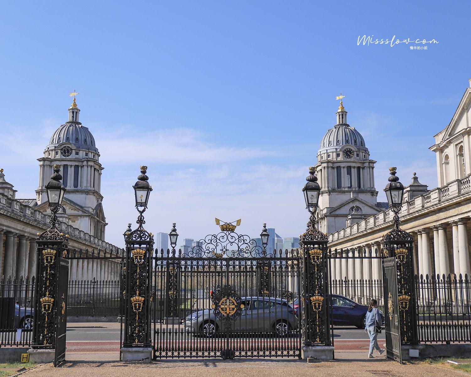舊皇家海軍學院Old Royal Naval College