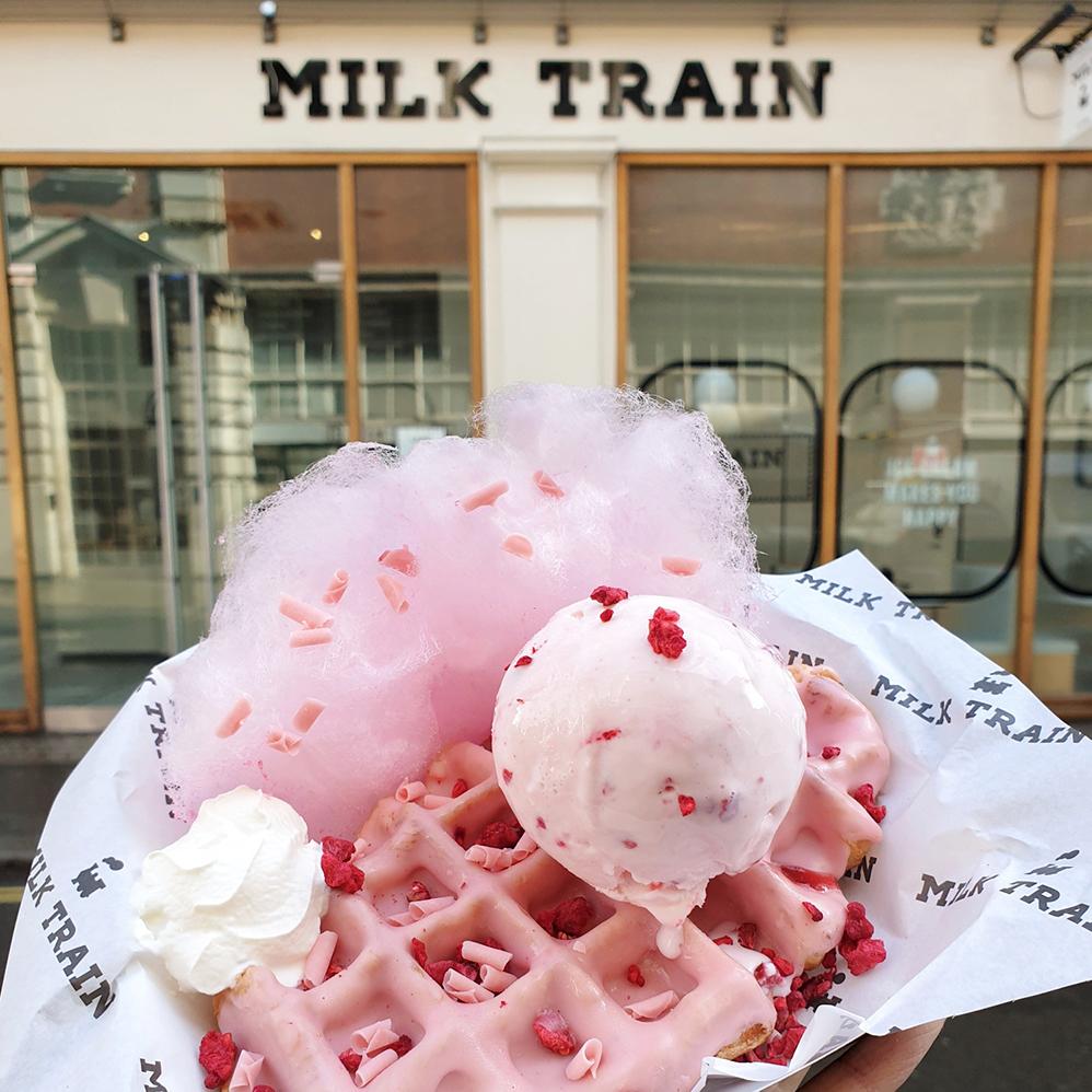柯芬園 Milk Train 倫敦網紅冰淇淋店