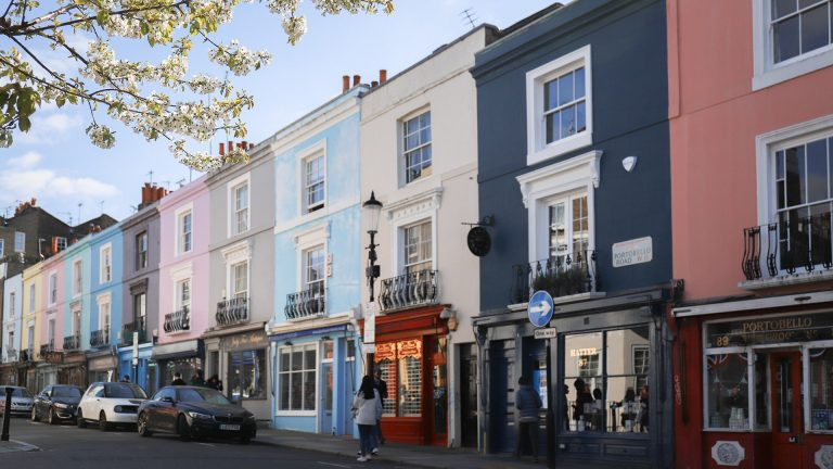 諾丁丘Notting Hill的彩色屋在哪裡?熱門4大景點和4間餐廳整理推薦