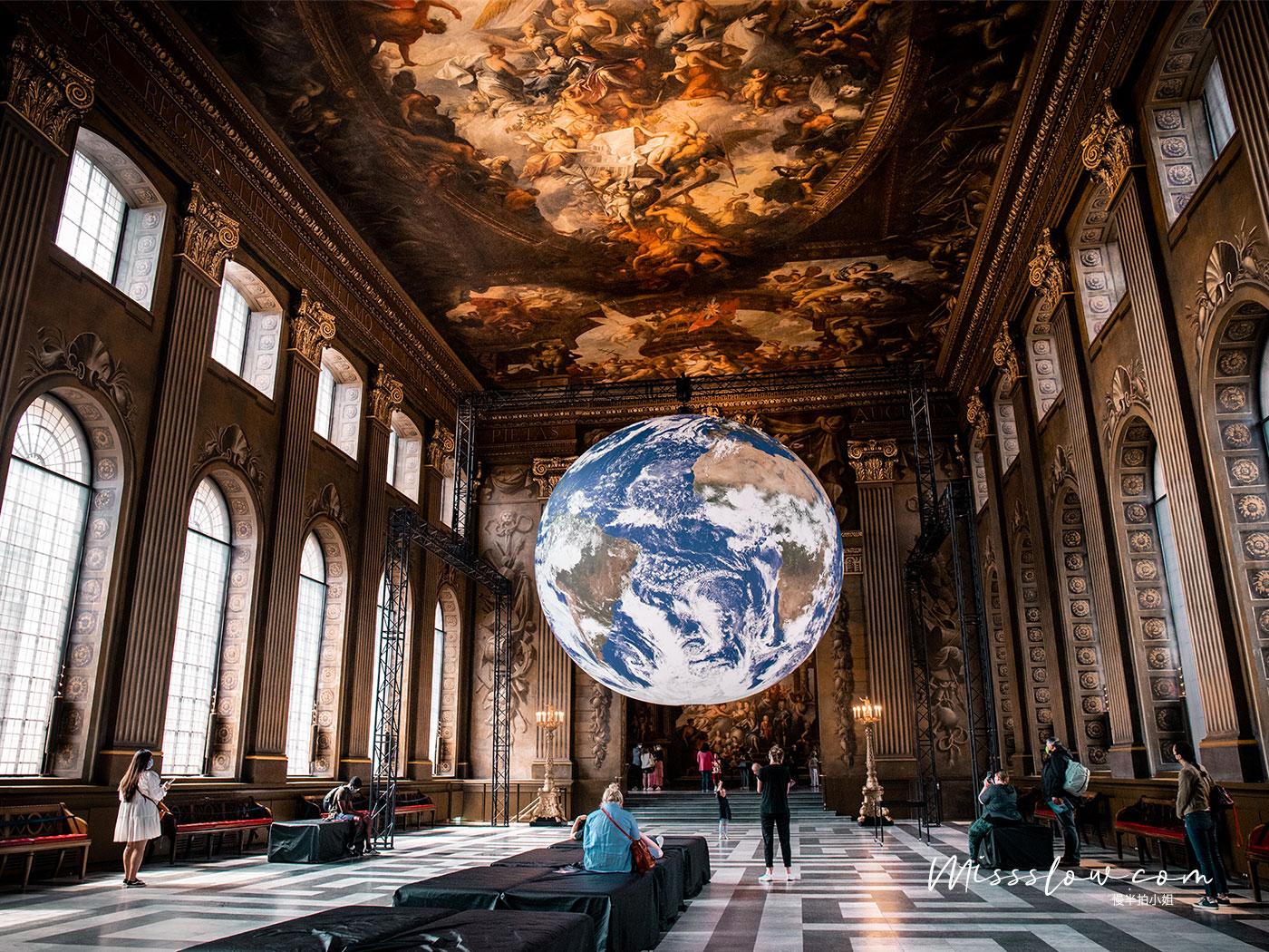 舊皇家海軍學院Old Royal Naval College-彩繪大廳the Painted Hall
