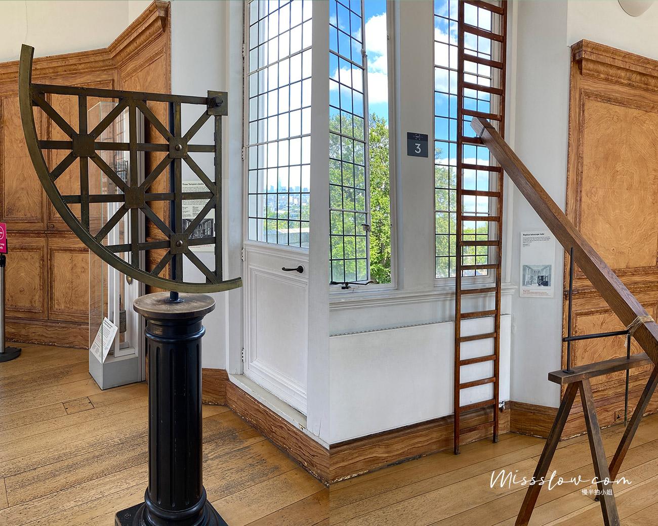 格林威治皇家天文台 八角廳-以前天文學家用來觀測星象的地方。