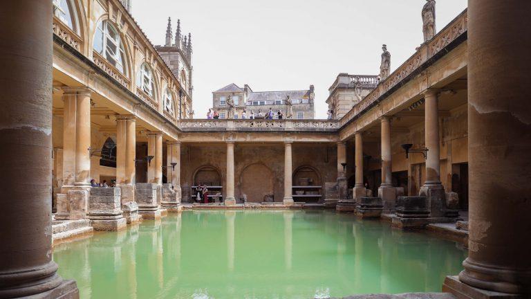 巴斯羅馬浴場 the roman baths|如何前往?必看9大重點、門票預約、營業時間