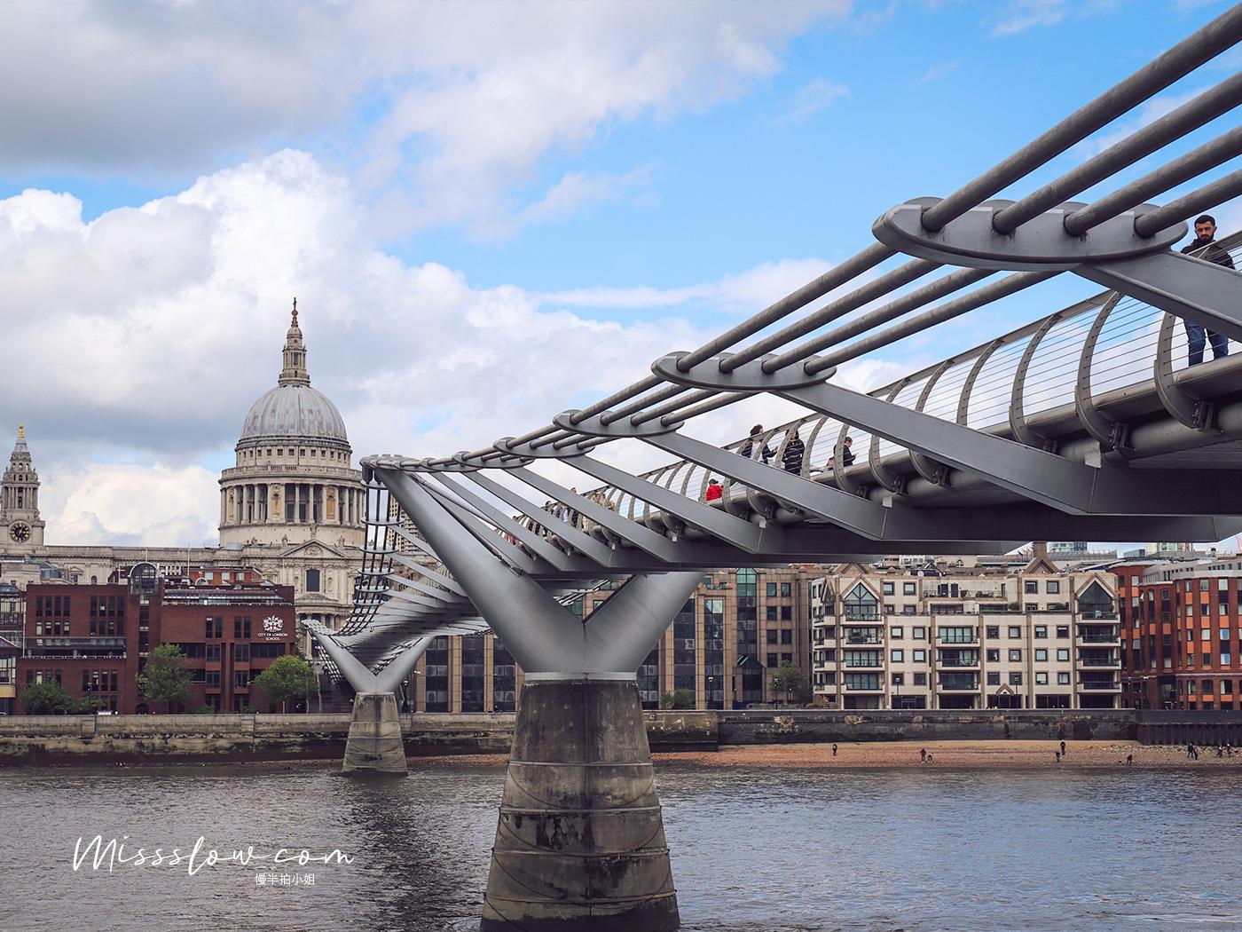 倫敦泰晤士河南岸-千禧橋