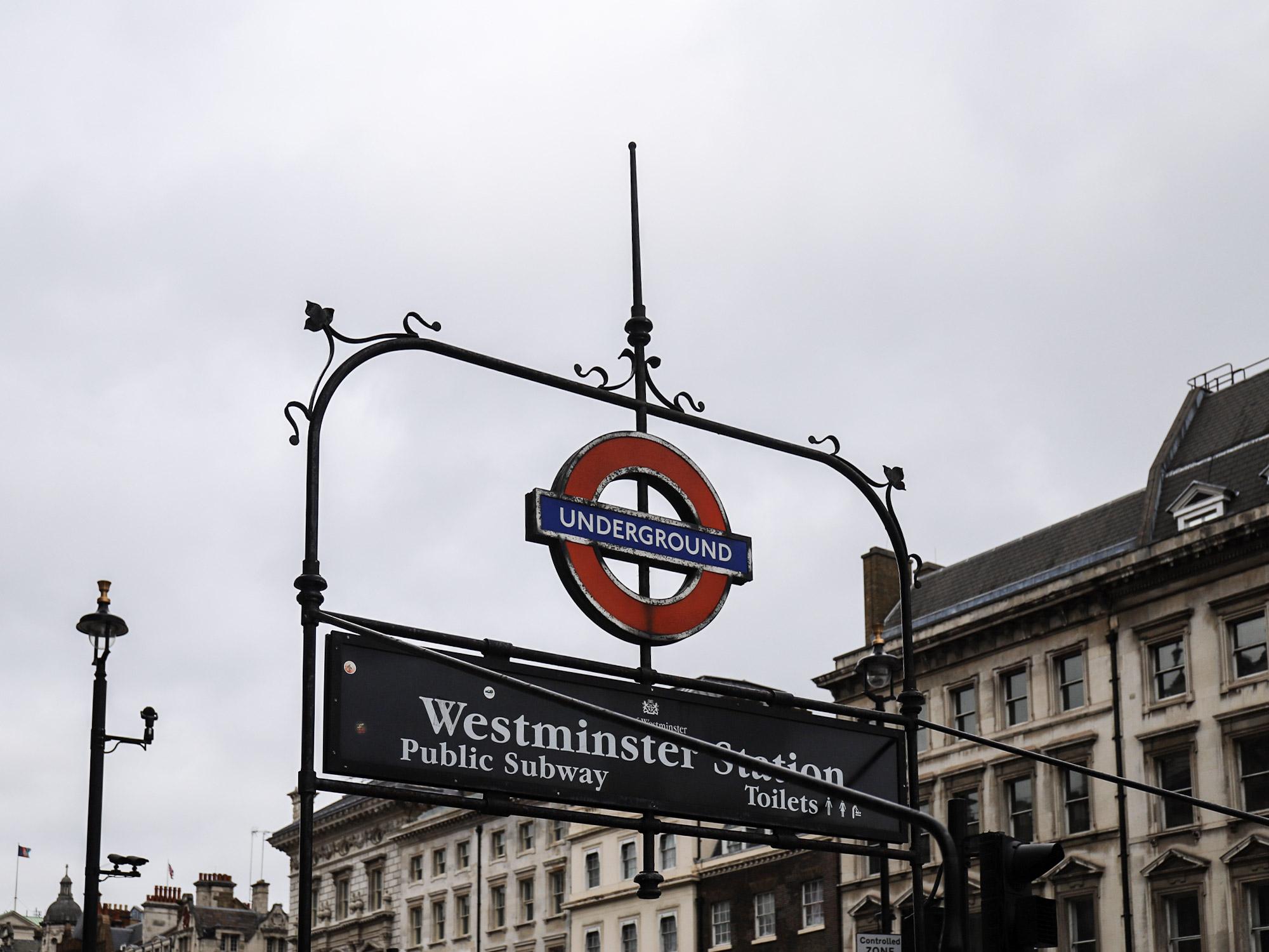 倫敦泰晤士河南岸-westminster station