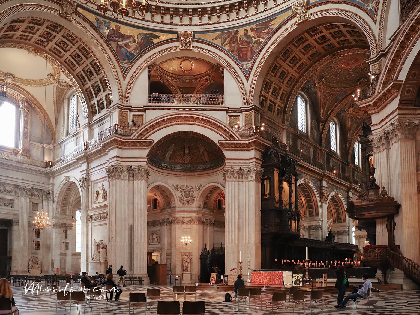 倫敦泰晤士河南岸-聖保羅大教堂