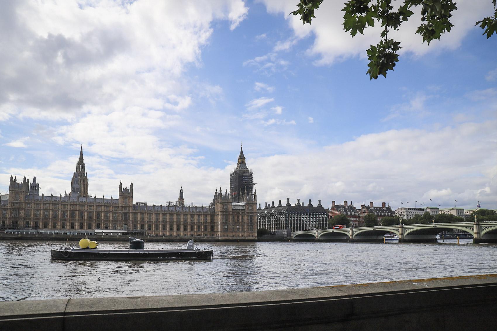 倫敦泰晤士河南岸-大笨鐘