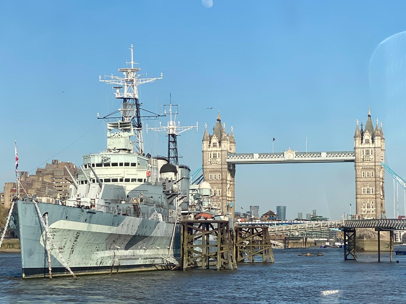 倫敦泰晤士河南岸-HMS Belfast