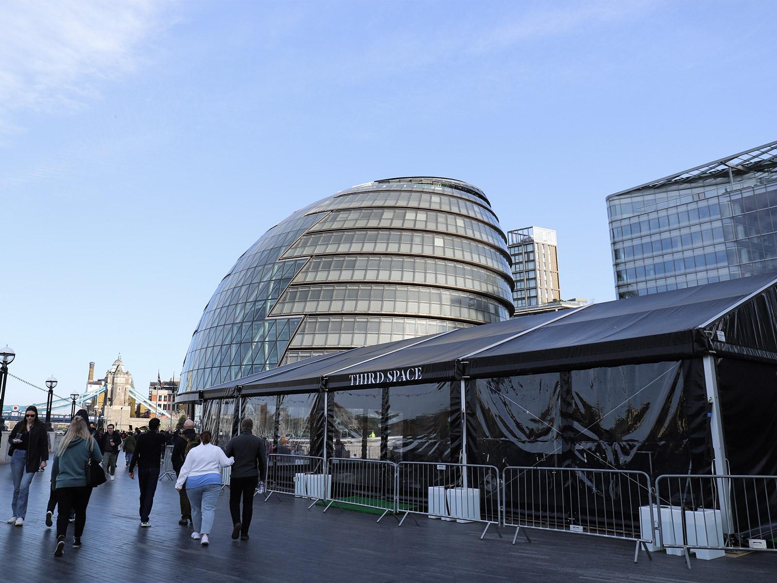 倫敦泰晤士河南岸-倫敦市政廳