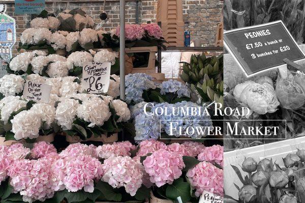 哥倫比亞花市Columbia Road Flower Market|新鮮花束植栽、咖啡、雜貨…就算不買花也會愛上