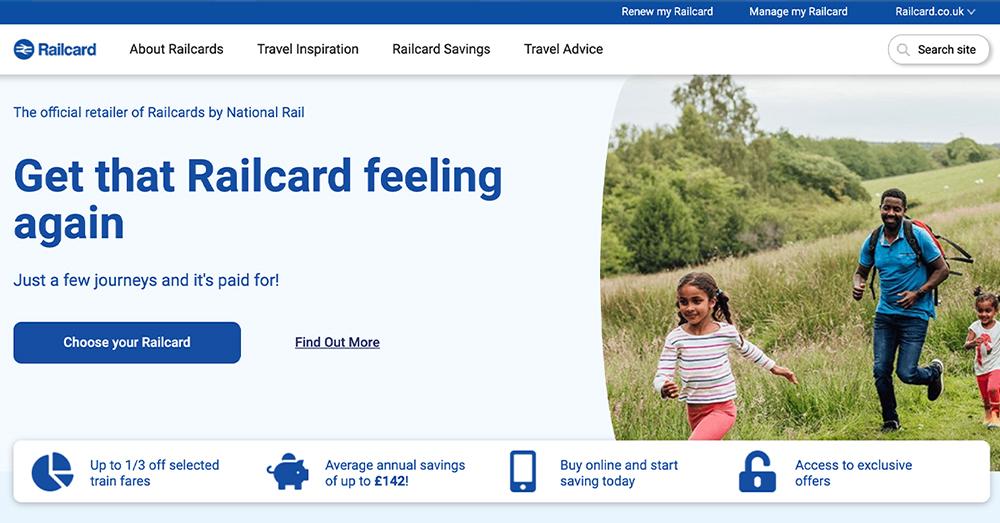 英國App必載-Railcard