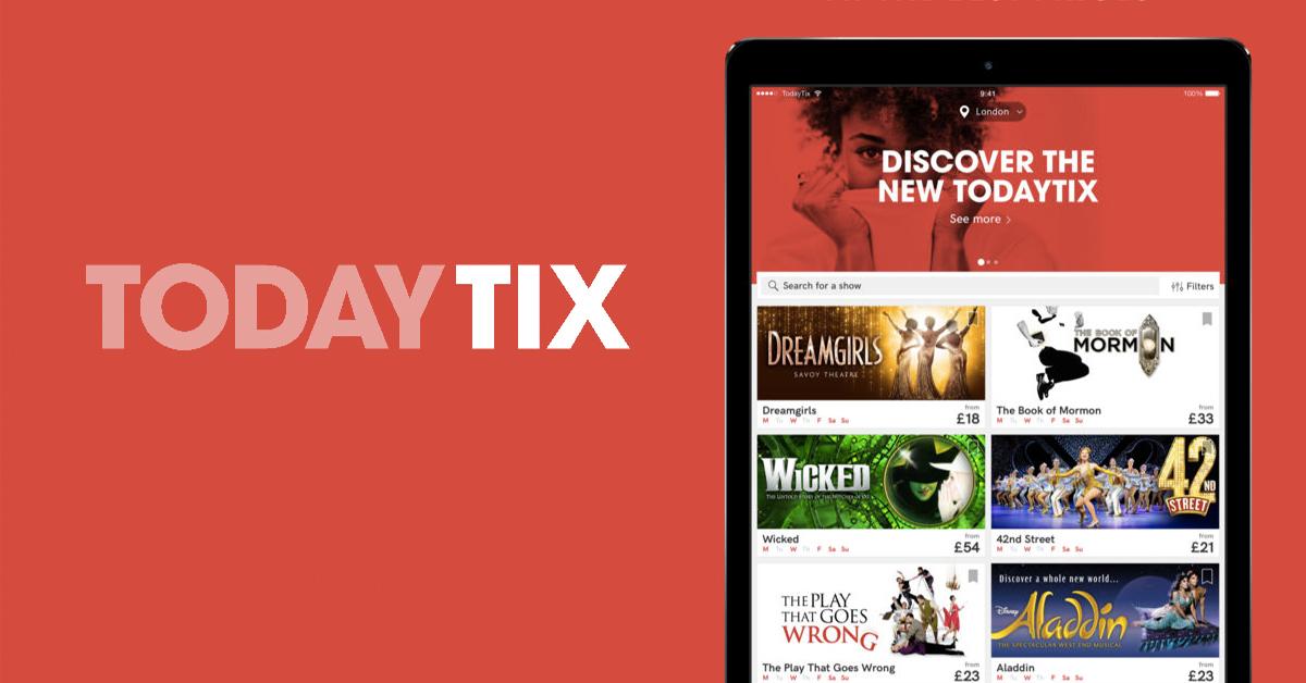 英國App 必載-Today Tix