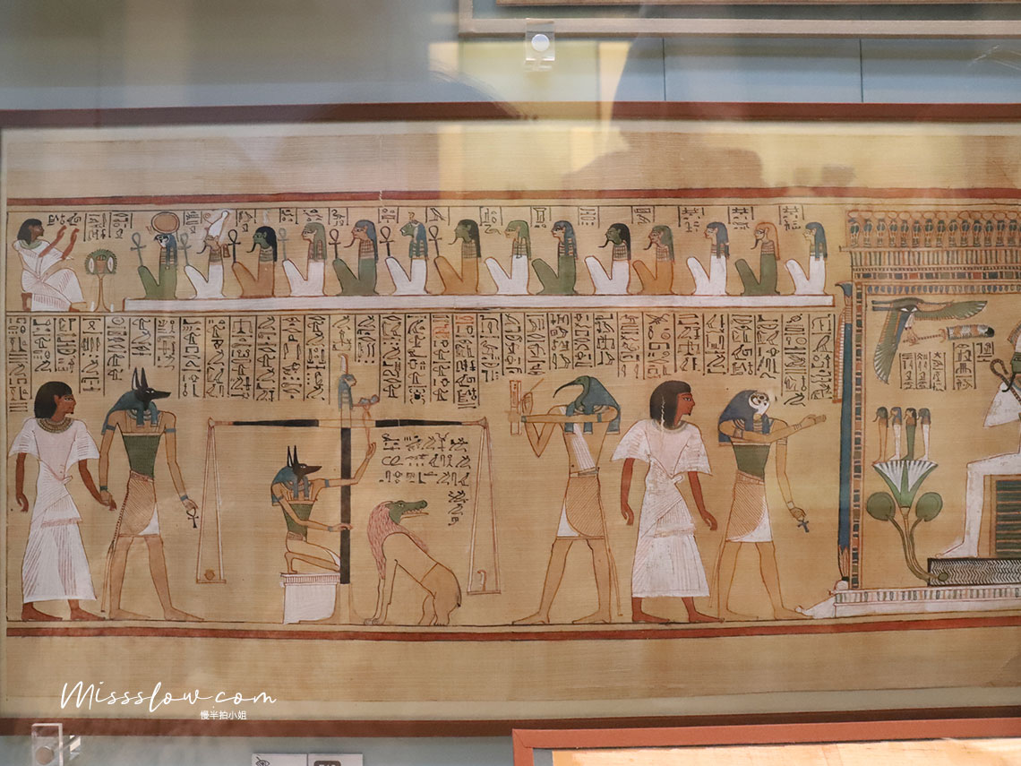 大英博物館:亨利弗的死亡之書-The book of the dead of hunefer