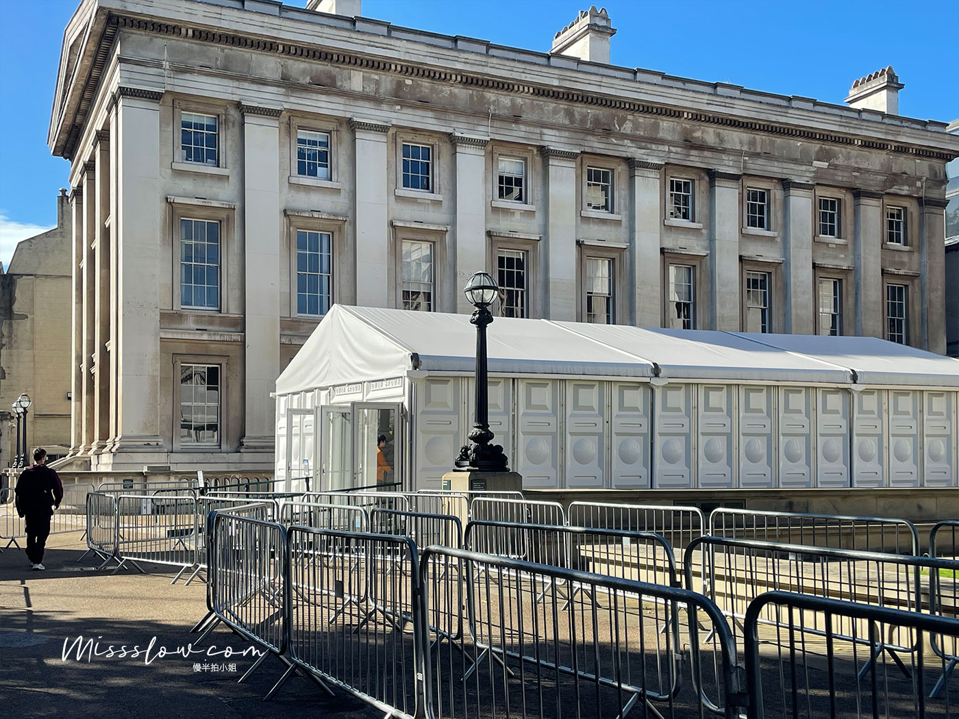 大英博物館-入口安檢處