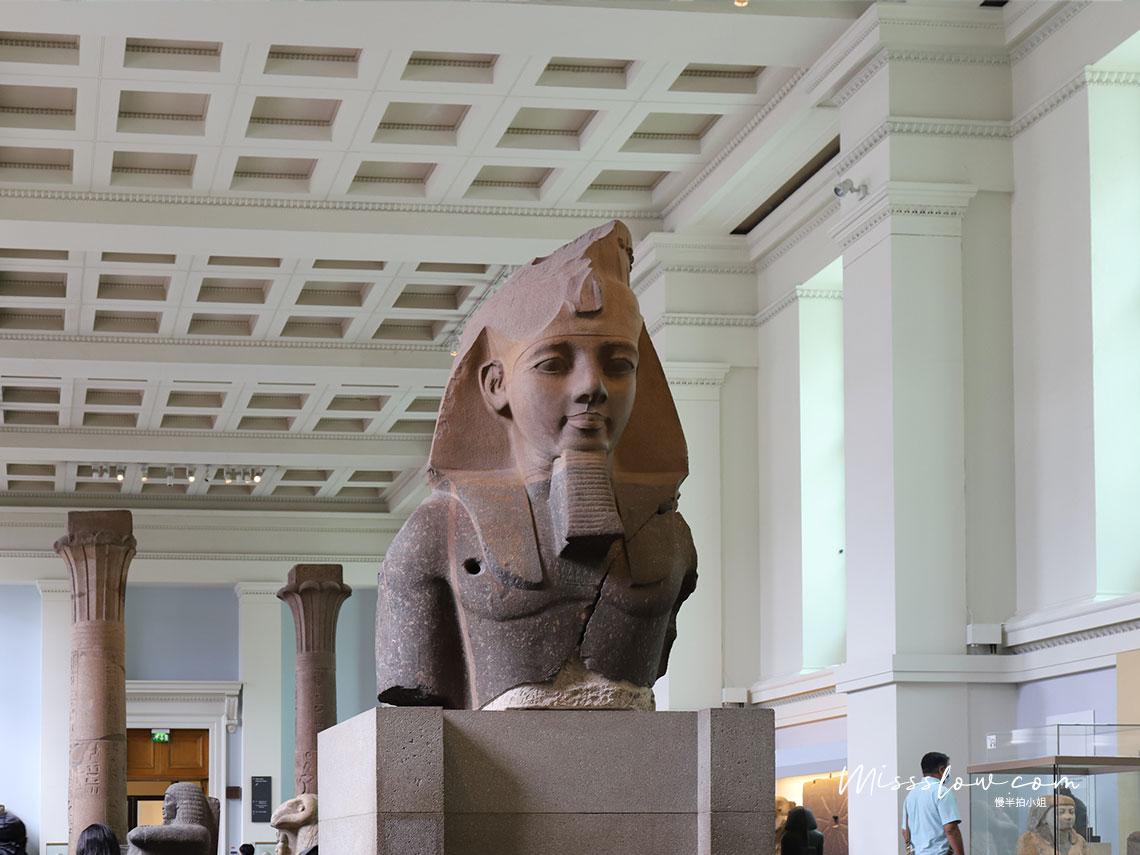 Statue of Ramesses II 拉美西斯二世半身雕像