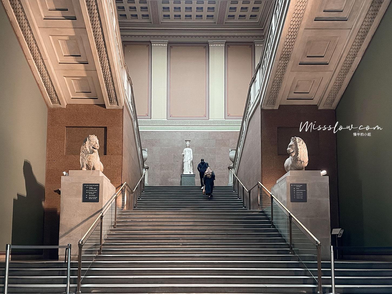 大英博物館-從Ground Floor走到Upper Floor