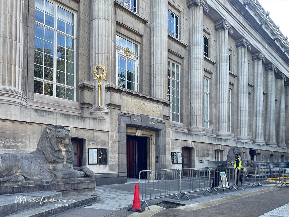 大英博物館-Montague Place第二入口
