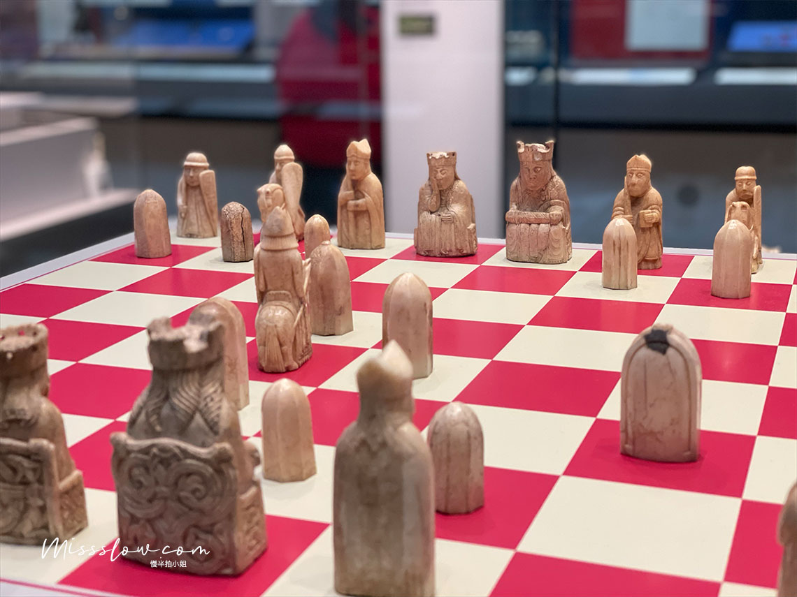 大英博物館 The Lewis Chessmen路易斯西洋棋