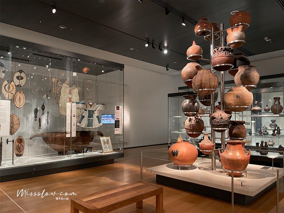 北美原住民物品展示