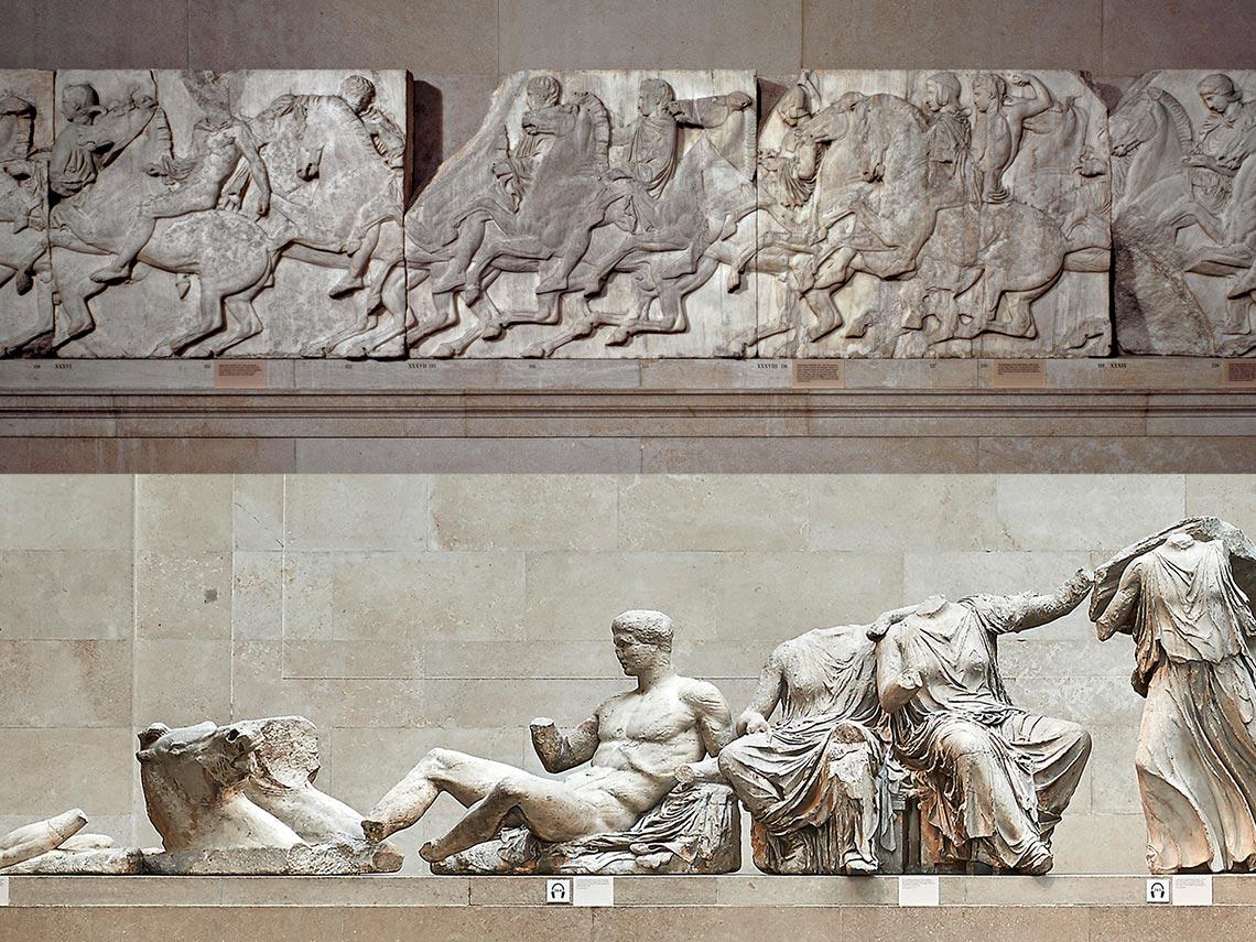 大英博物館 帕德嫩神殿雕像